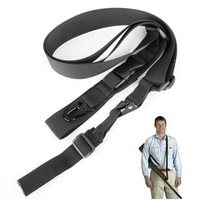 3-point Tactical Rifle Gun Sling Strap Lanyard Hook F Outdoor Hunting Games