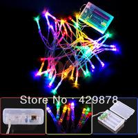 4m  White Multicolour Warm White 40 LED String Light Party Chrismas Lamp Decoration Cell Powered led lamps led bulb