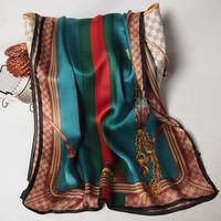 102055 2014 Newest Women's brand Georgette Satin scarf, 100% Silk scarves, rectangle silk scarf, Free Shipping,  Muslim Hijab