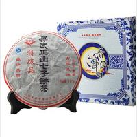 FREE SHIPPING!! Pu er tea health tea wu yi seven cake blue and white porcelain 357g mainbreeds