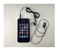 1pcs 3.5mm Handsfree Headphone Earphone +Mic for Huawei Ascend P1 U9200 free shippig