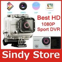 GoTop G1 Sport Camera 1080P Full HD Action Camera 16MP Mini DV G-sensor Built-in GPS Motion Detection + Waterproof Case as Hero3