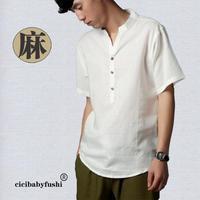 2014 Time-limited New Freeshipping Casual shirts Summer Men's Short-sleeved Shirt Loose Big Yards Short Sleeve Collar Linen