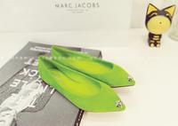 Free shipping 2014 New Arrival Women Fashion print doll velvet women's flat shoes fashion women shoes