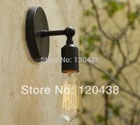 Perfectshow Minimalist 1-Light Wall Sconces Vintage Iron Rustic
