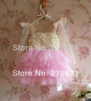 wholesale  !2014 girl summer flower tutu dress ,dresses for children , 5pcs/lot