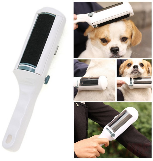 Static Electrostatic Clothing Lint dust Remover Brush Sweeper Pets Hair Cleaner(China (Mainland))