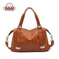 Inme 2014 women's genuine leather handbag female handbag messenger bag first layer of cowhide women's bag