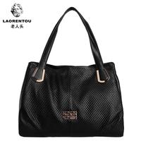 2014 women's genuine crocodile leather handbag fashion handbag shoulder bag large bag