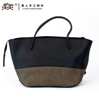 Sunday handmade one shoulder formal elegant large capacity women's handbag genuine leather 13bwl1436