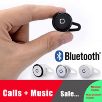 Universal Super Mini Wireless Bluetooth Invisible Stereo Bluetooth Headset earphone for iPhone4/4s iPhone5 Apple Samsung HTC