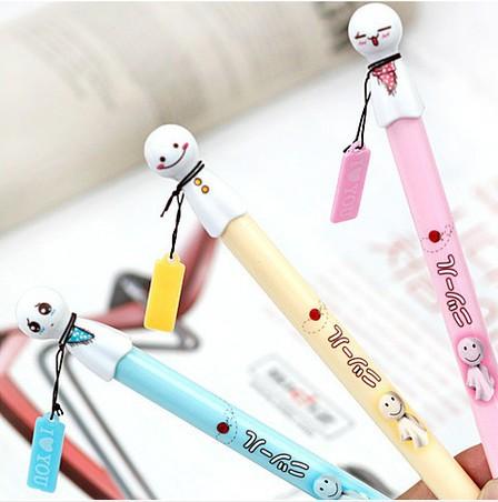 Caneta Direct Selling 12 Pens/box No Pens Papelaria 2014 New Fashion South Korea's Cute Brandi Sunny Doll Neutral Pen / Ink 3(China (Mainland))