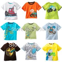 boy cartoon cotton T-shirt