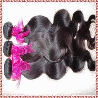 High quality Premium 7A Brazilian wavy Virgin unprocessed human hair extension 4pcs/lot(400g),cuticle intact