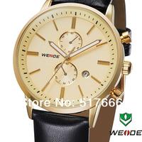 2014 WEIDE Lastest Mens Military Watch Sport Watch Janpan Quartz Complete Calendar Display 4-color 30 Meters Water Resistant