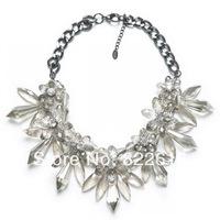 Fashion Necklaces for women 2014 Retro Pendants Romantic Colorful Jewelry Chains Necklaces