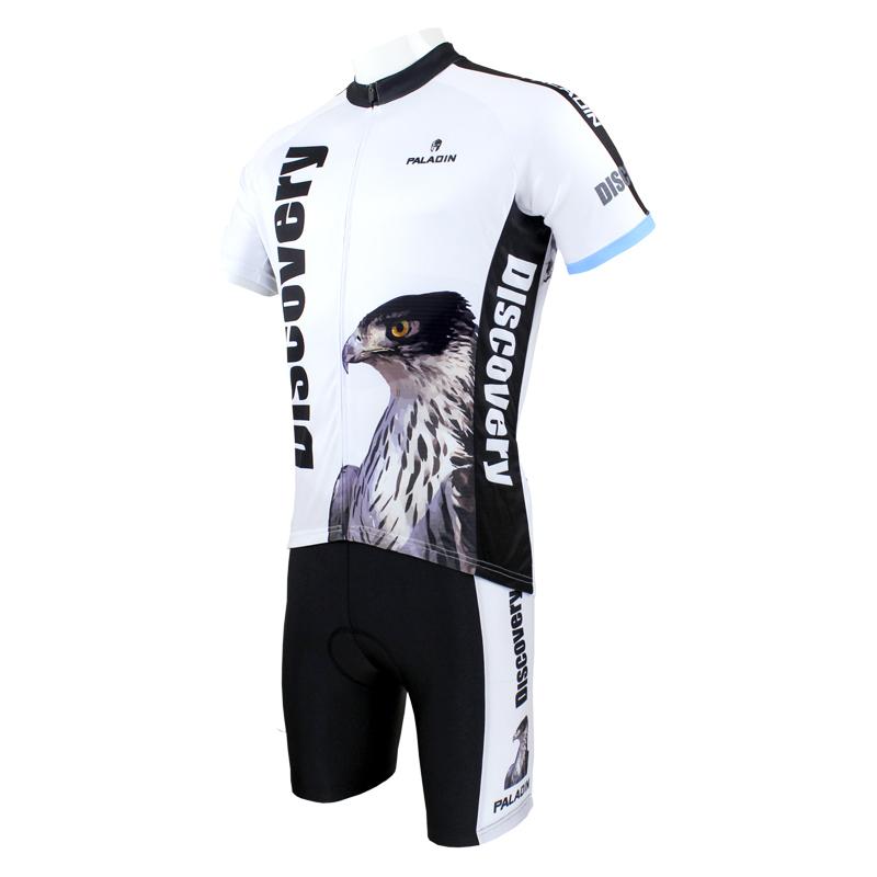 Hot sale 2014 New Mens Cycling Jersey+Shorts Bike Clothing PaladinSport DISCOVERY Eagle S-3XL(China (Mainland))