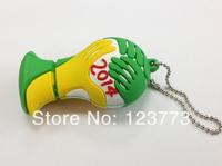 New wholesale 10pcs /lot cartoon Football trophy model usb flash pendrive 1-32GB usb stick flash drive pen drive