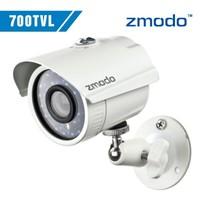 Zmodo Day/Night CCTV video Surveillance security Cameras CMOS 700tvl 960H 24pcs IR leds waterproof outdoor camera with bracket