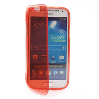 Glossy Flip Folio TPU Gel Case Cover for Samsung Galaxy S4 mini I9195 I9190  Case Free Shipping Brand New