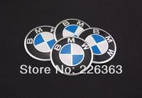 Wholesale New A Set Of 4pcs 56mm CAR Auto Tyre Wheel Center Hub Cap Hubcap Stickers Emblems Badge Decal Fit BM BW