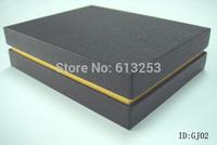 Customized High-grade Gift Box Wholesale Dual Thickening Black Packaging Case. Free Printing Logo. Min. Order 500pcs  ID: GJ02