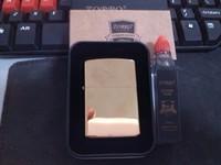 Kerosene, lighter titanium paintless mirror gold piece set