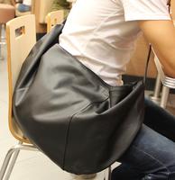men's leather handbags   bag  man  personalized travel big  bucket  dumplings    men messenger bags    handbag