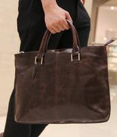 handbag bag men document laptop  vintage  portable one shoulder messenger  bags handbags
