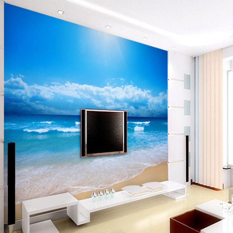 maison de plage wallpaper Promotion Achetez des maison de