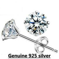 wholesale white gold plated rhinestone austrian crystal fashion earrings wedding jewelry 2N169