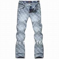 Buy Perfect Jean for Men Top Designer Luxury Brand Wholesale Denim Jean,Fashion 2014 Summer Mens Trouser Skinny Jeans Slim Fit
