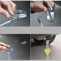 Car electrostatic antistatic belt metal electrostatic belt Vehicle warning article electrostatic auto supplies wholesale