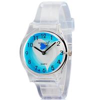 Willis mini children cartoon watches Women's Heart Quartz Watch with Plastic Strap women wristwatches