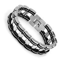 wholesale free shipping gift Bracelet & bangle 304 Stainless Steel Bracelet Men Jewelry #SA0160