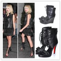 Free shipping women sandals shoes fashion Design sandals women pumps High boots summer shoes