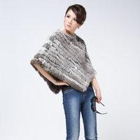 2014 fur rabbit fur fox fur cape pc-l80311-4