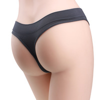 Mid waist female women's T thong panties t type panties sexy temptation