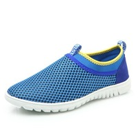 New design fashion breathable summer shoes for men big size EU 38-46 by factory