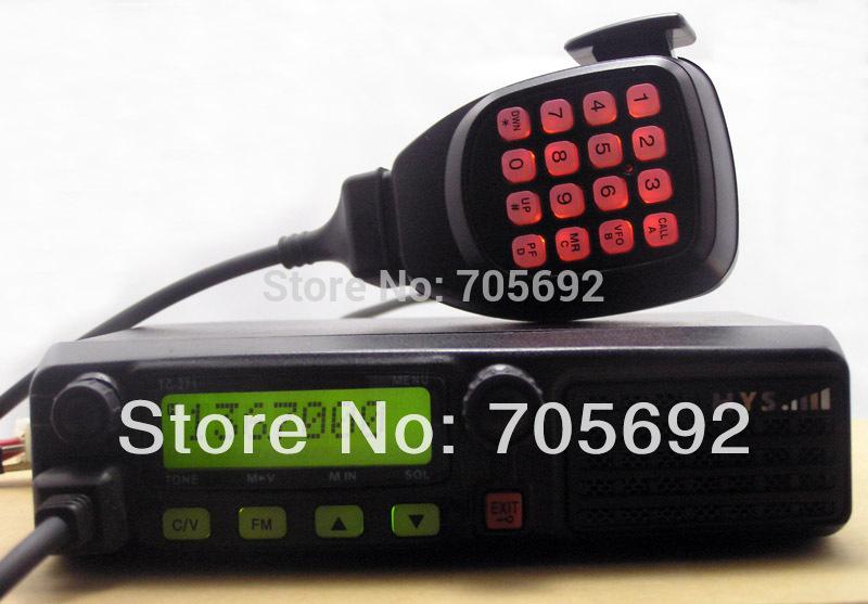 Новейшая УКВ автомобиль радио мобильный телефон с 128 каналами и usb программирование кабель ТК-271