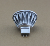 Free Shipping 4 pieces/Lot Aluminum Body New Model MR16 4*1W LED Bulb DC/AC12V 45 Degree Beam Angle 40W Halogen Lamp Equivalent