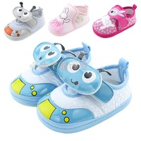Snow doll baby shoes spring and autumn skidproof toddler shoes soft shoes outsole cotton-made 0-1 year old baby shoes double