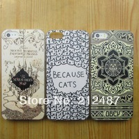 Free Shipping 2014  hot fashion  case for iphone 4/5  High quality relief  hard case for iphone4/4s / iphone 5/5s