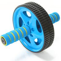 Free shipping Ab wheel abdominal wheel roller fitness pulley abdomen drawing wheel equipment boat mute