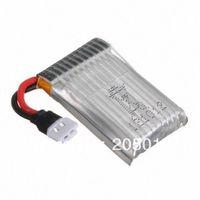 5Pcs/Lot Hubsan X4 H107C H107L H107 U816 U816A V252 Batteries 3.7v 240mAh 25c LiPo QuadCopter Battery + Free Shipping