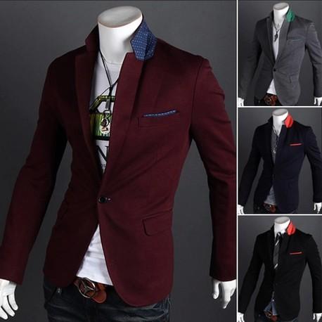 Новый 2011 мужская мода slim fit