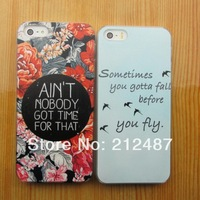 Free Shipping new   fashion   case for iphone 4/5  High quality hard case for iphone4/4s / iphone 5/5s