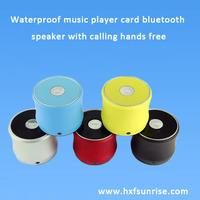 A2 waterproof speaker bluetooth phone speaker build in wireless mic for  hands free