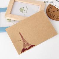20 pcs/set Mini Pylon Retro Vintage Kraft Paper Envelopes Cute Cartoon Kawaii Paper Korean Stationery Gift Free shipping