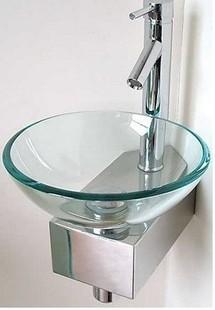 Sanitary Ware Beautiful Small Glass Wash Basin Wash Basin